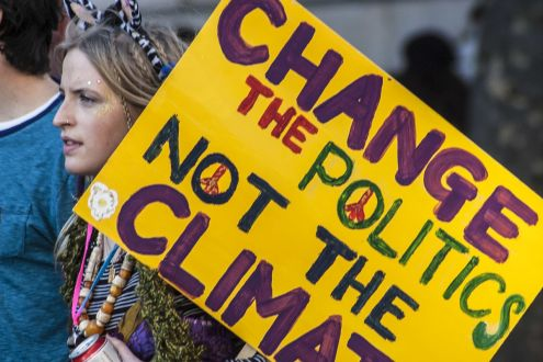Climate March through London to demand real action on climate change