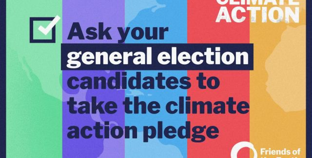 Ask your election candidates to sign our climate pledge