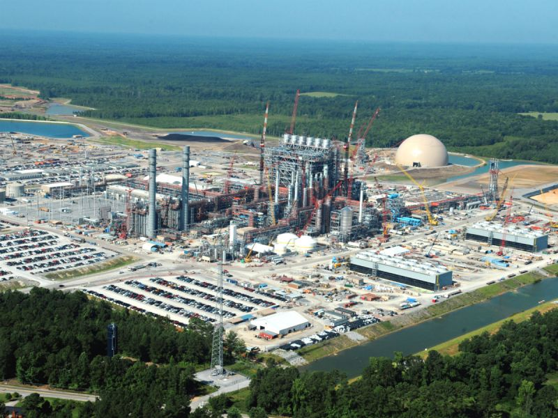 Kemper County Coal Gasification Plant under construction