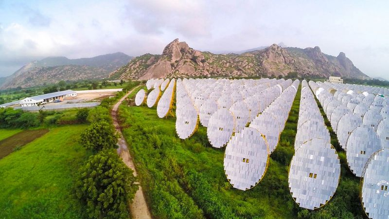 photo of Solar One thermal plant, India