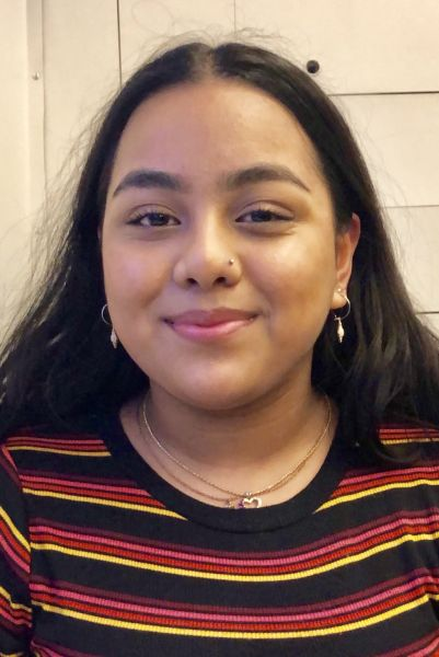 Ummi Hoque a sixth-form student and a youth forum member for Our Bright Future