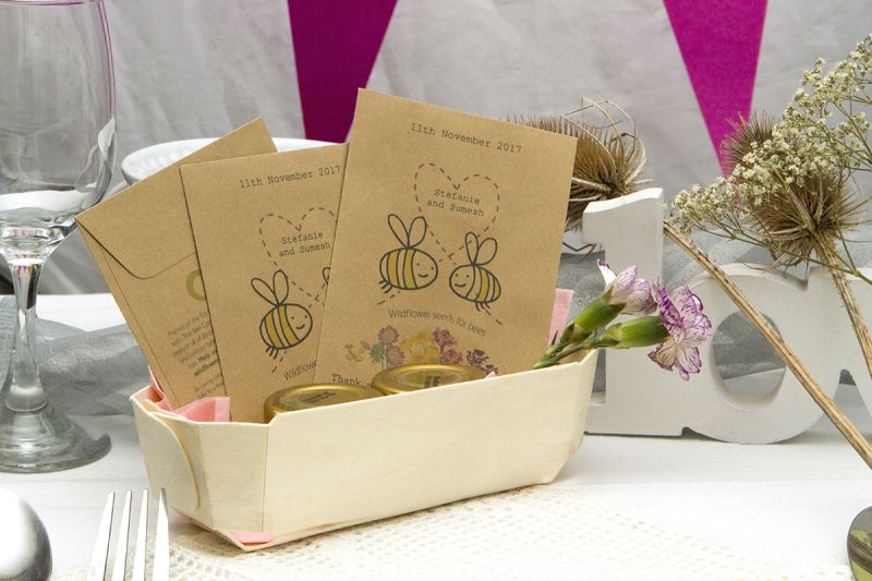 Wildflower wedding seeds