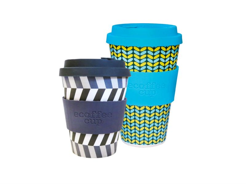 2 reusable Ecoffee cups sold by Friends of the Earth's online shop