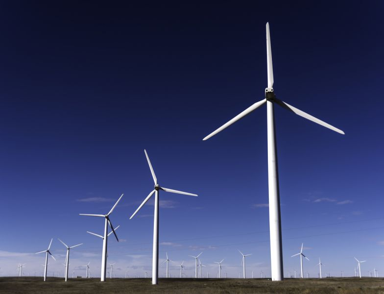 photo of Cedar Creek wind farm, USA