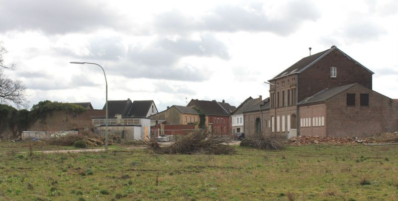 The village of Immerath has been abandoned to make way for opencast coal mining