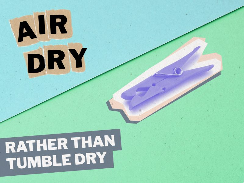 Microfibres: Tip 5: Air dry rather than tumble dry