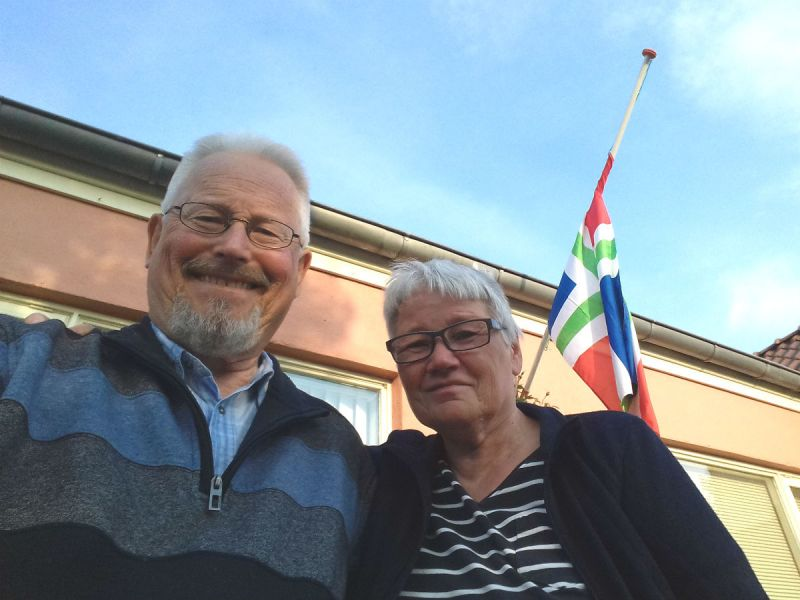 Peter and Elly Bruijn, residents of the Dutch city of Groningen