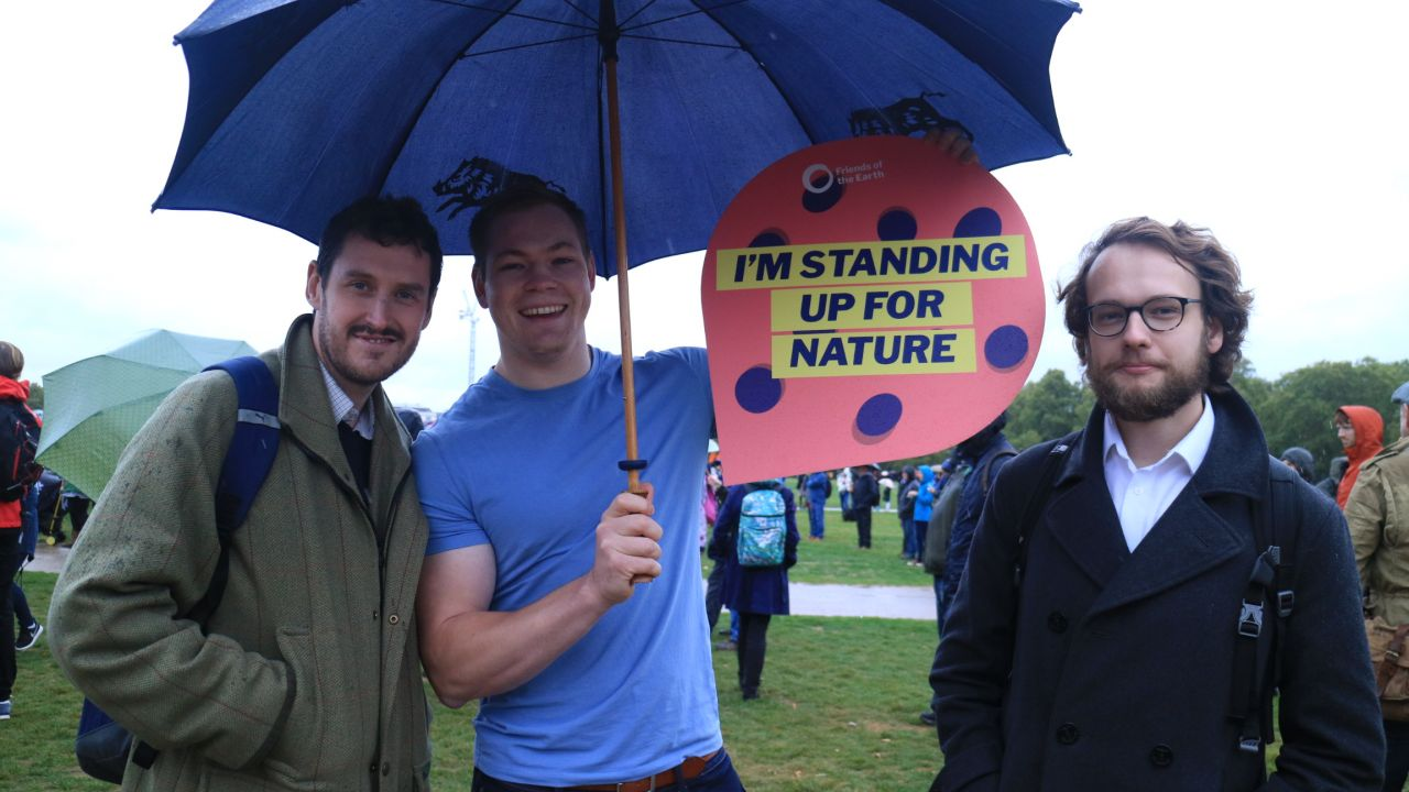 People's walk for wildlife 'I'm standing up for nature'