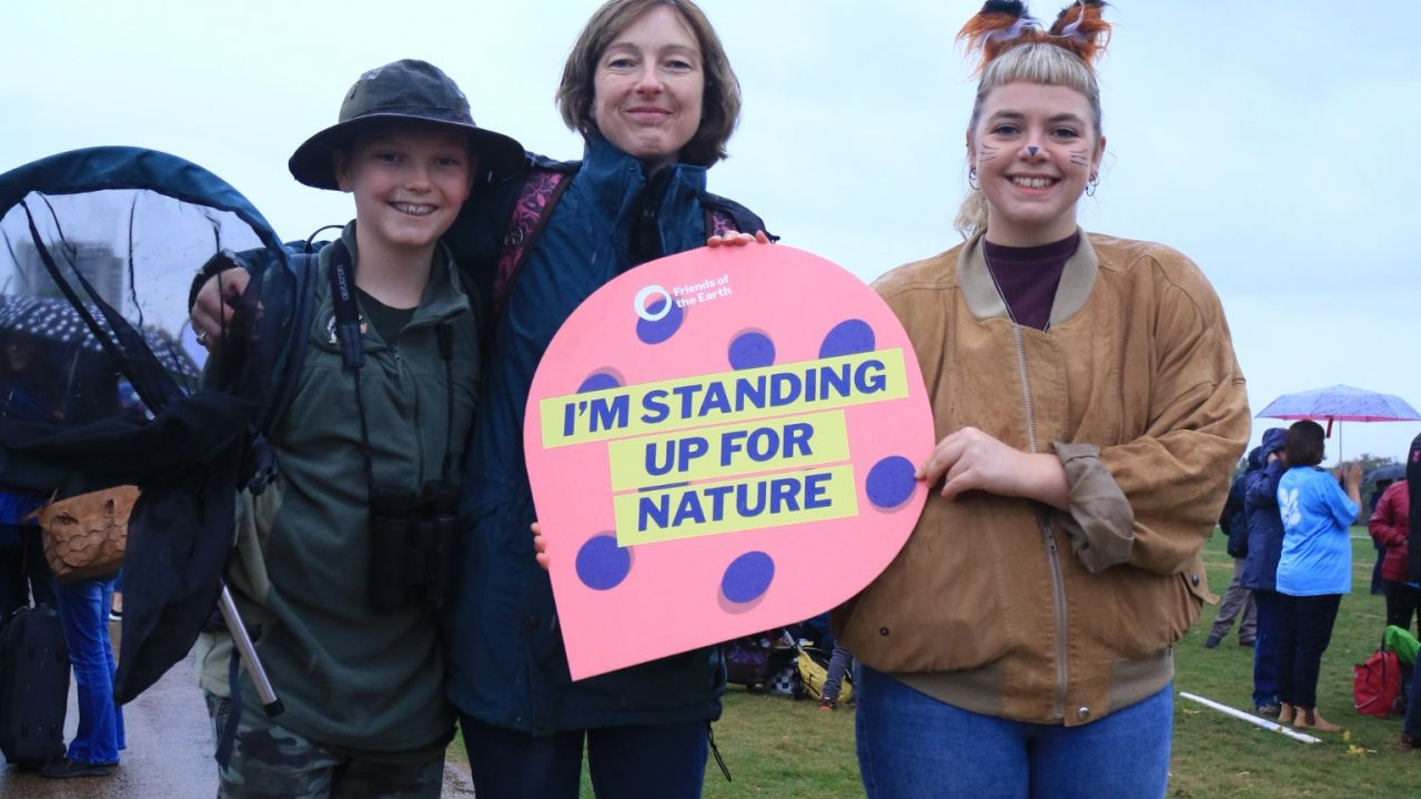 People's walk for wildlife - I'm standing up for nature