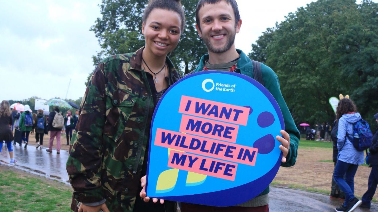 People's walk for wildlife - I want more wildlife in my life