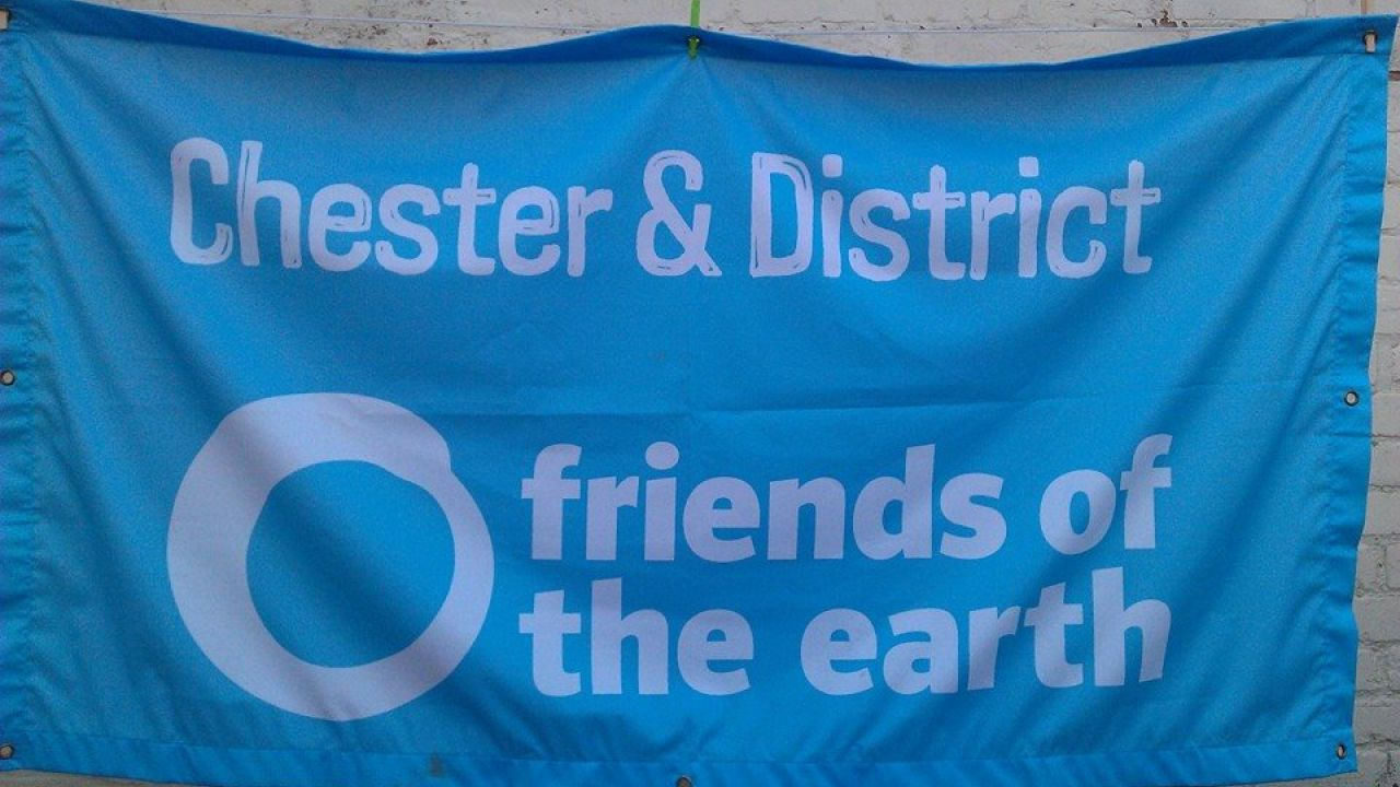 Chester Friends of the Earth banner