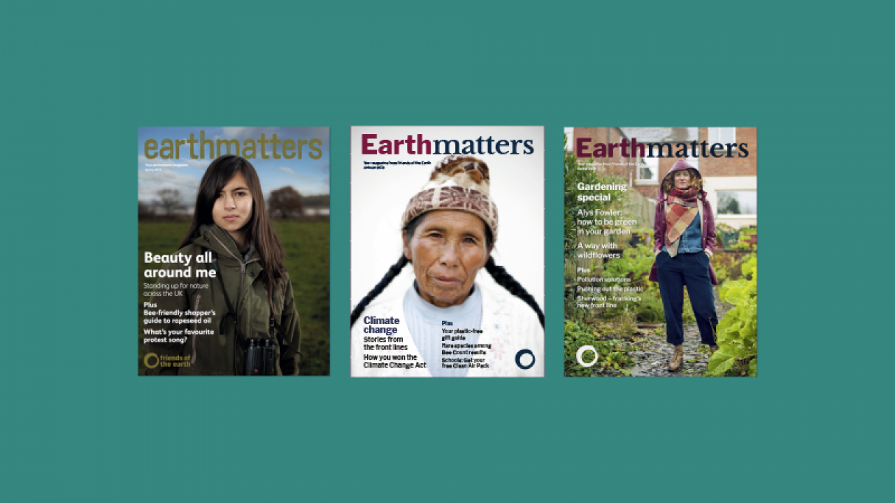 Earthmatters - our supporter magazine