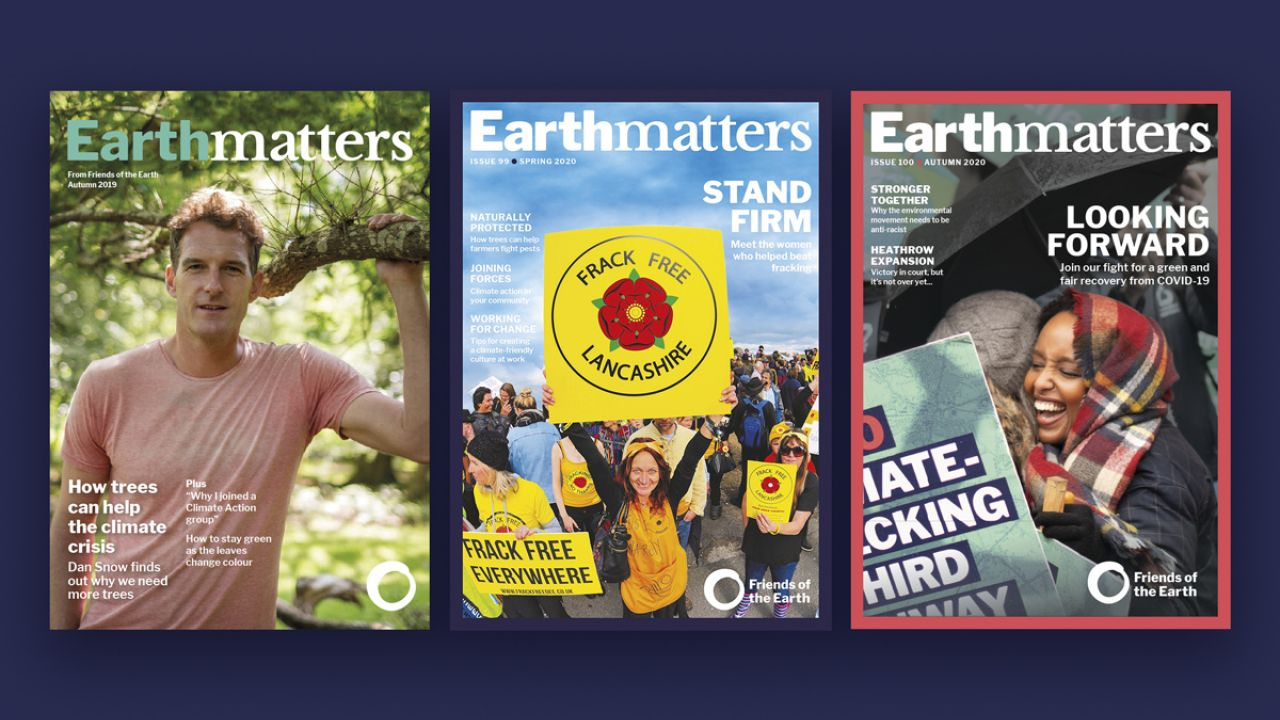 Earthmatters cover pages