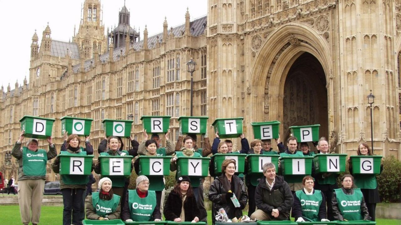 Waste no more - lobby at parliament
