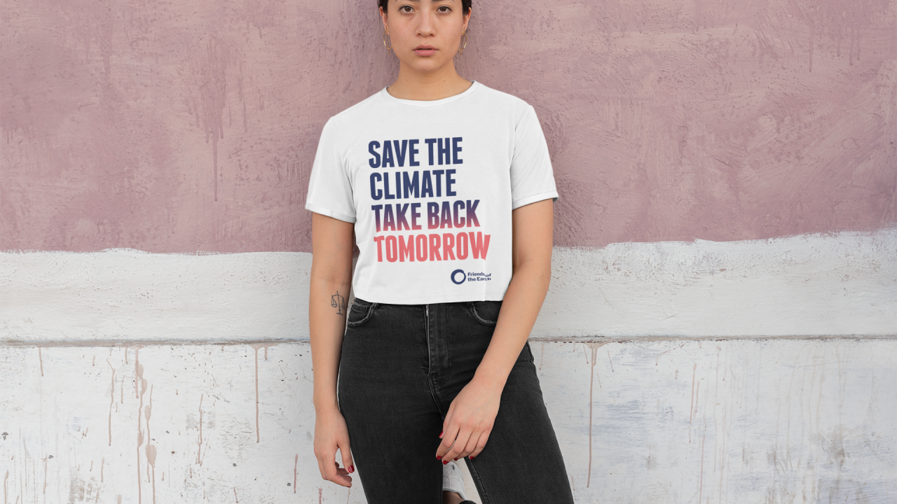 Save the climate Tshirt
