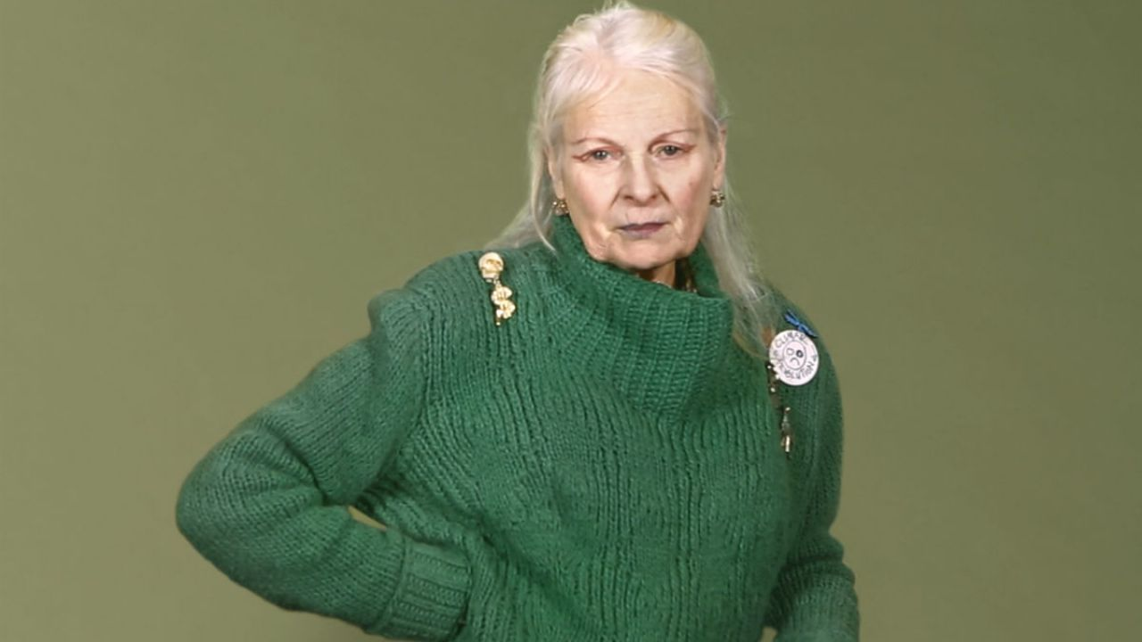 Fashion designer and activist Vivienne Westwood