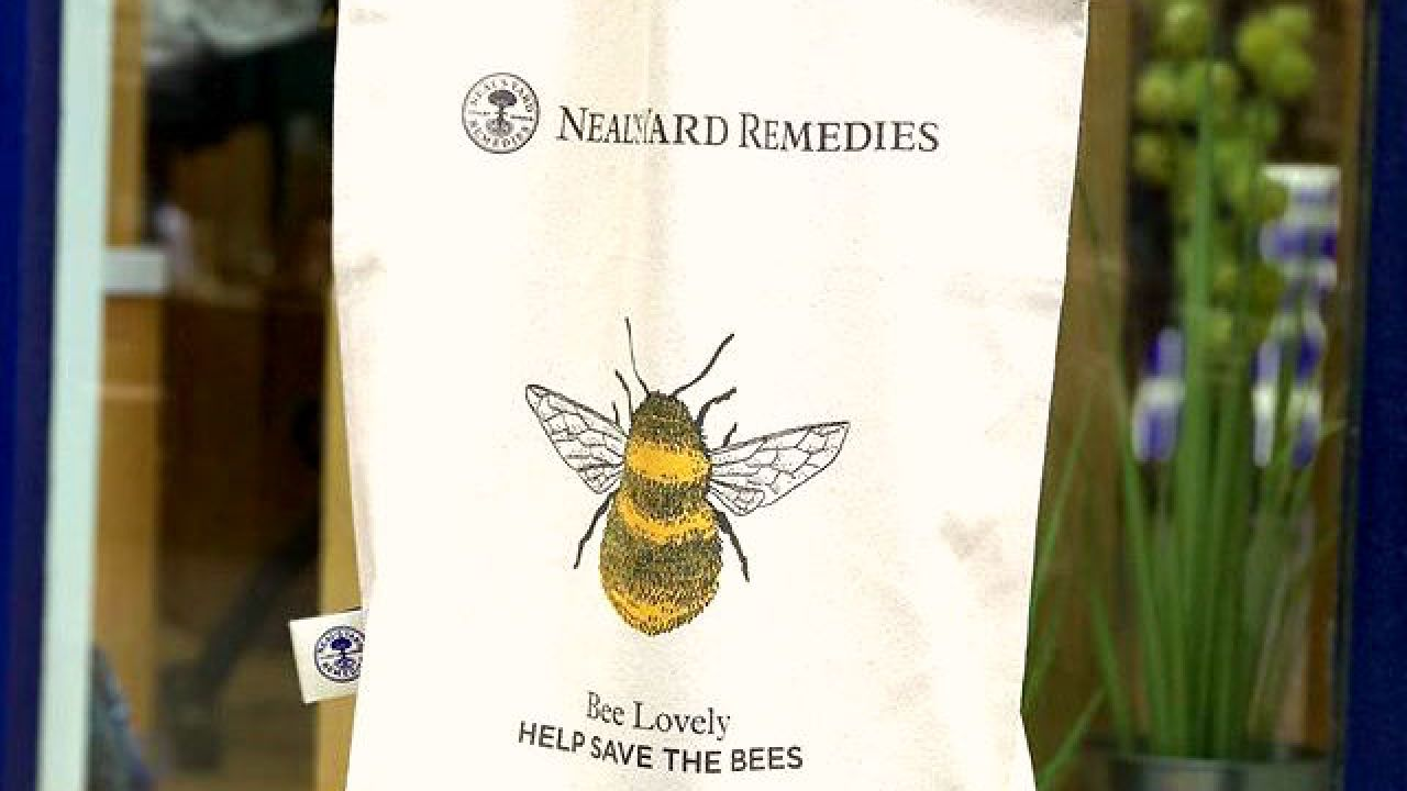 Bee Lovely bag by Neal's Yard Remedies