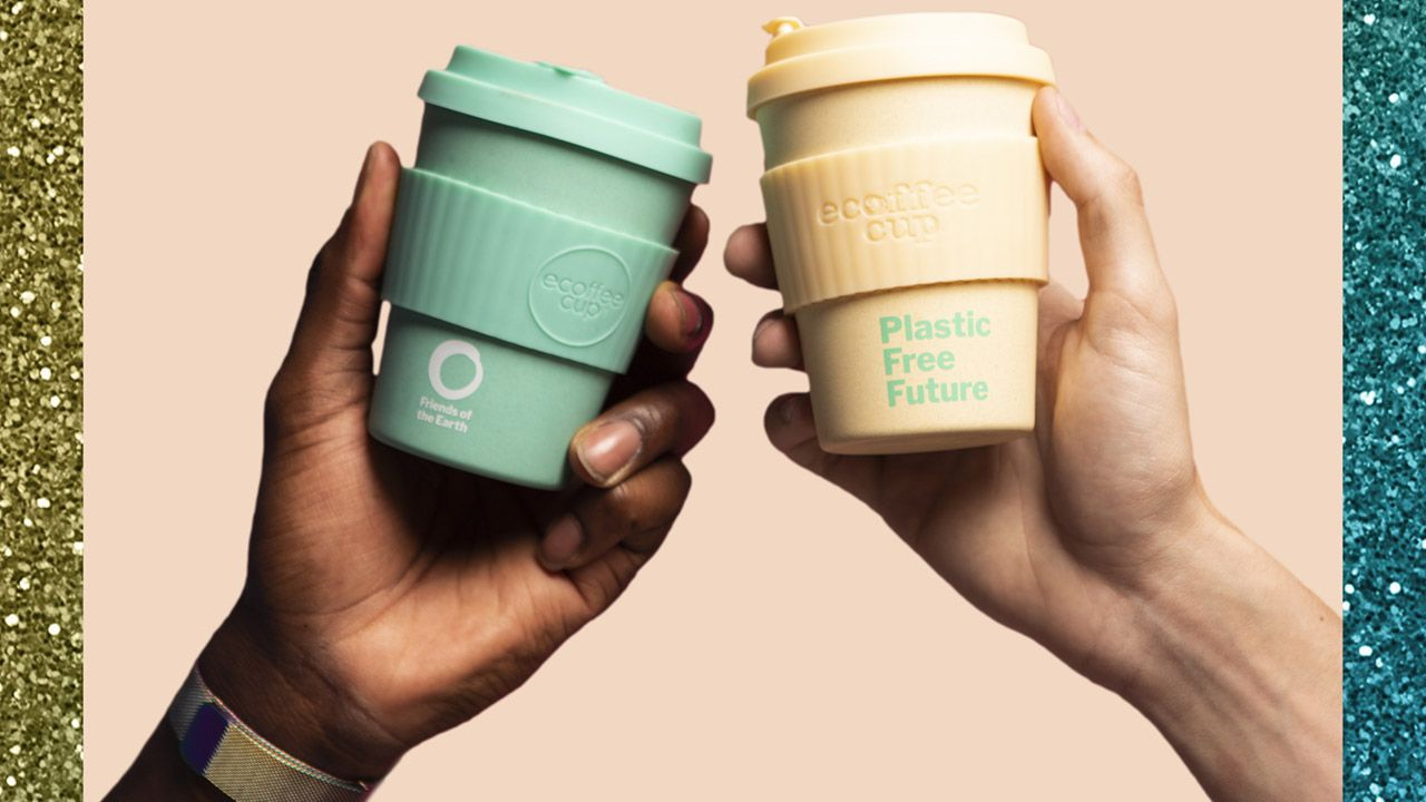 Image of reusable coffee cups