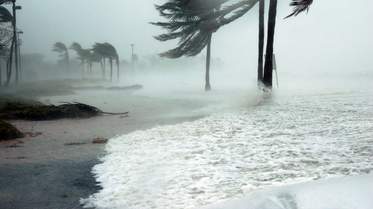 photo of hurricane at key West, Florida