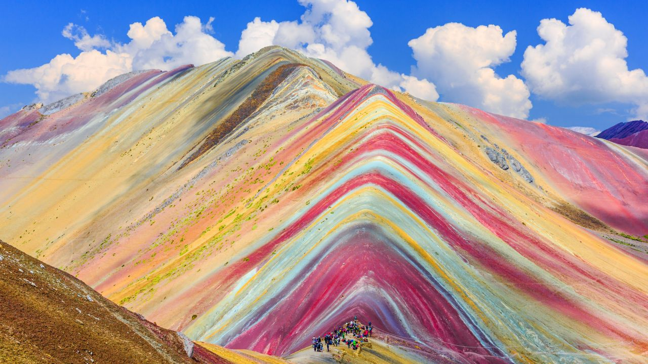 Rainbow mountain, Vinicunca, Cusco Region, Peru
