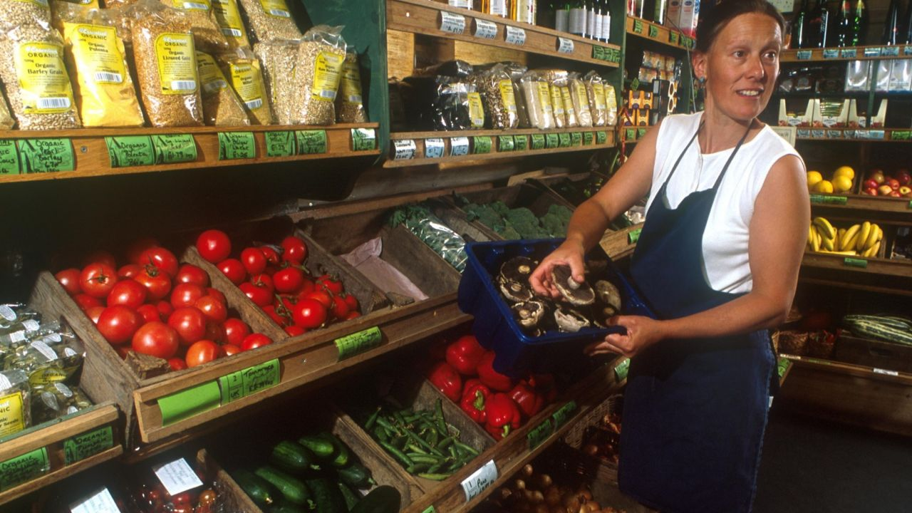 Riverford organic farm shop 2002