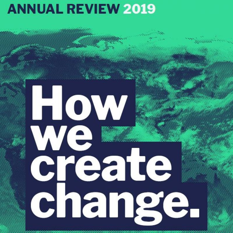Annual Review 2019 front cover
