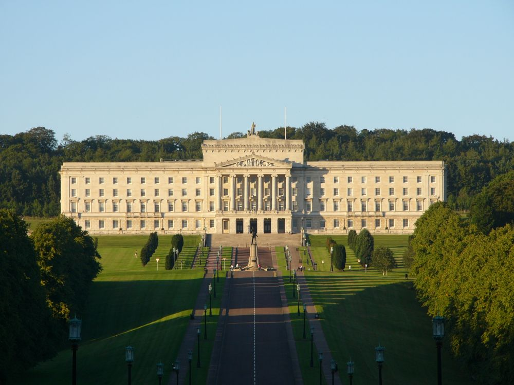 photo of Stormont, home of the Northern Ireland Assembly