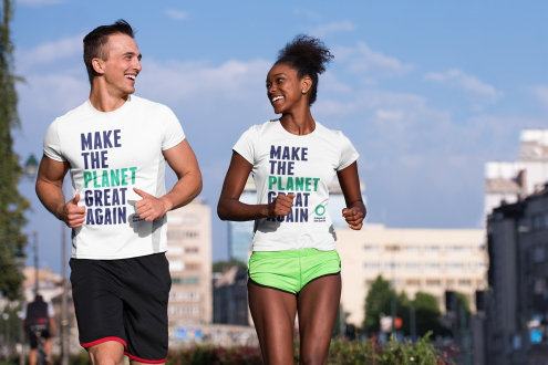 Make the planet great again tshirts - runners