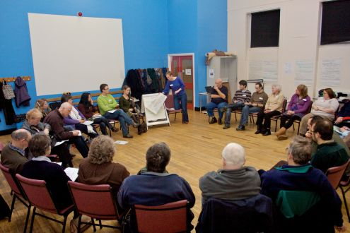 North East local groups gathering, 24-Jan-09, Quaker Meeting House.