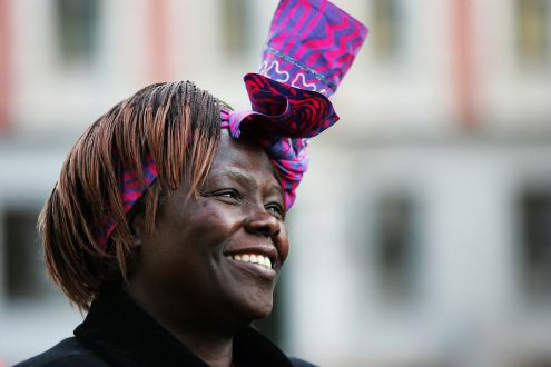 Wangari Maathai in Oslo © Green Belt Movement