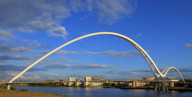 Infinity Bridge at Stockton on Tees