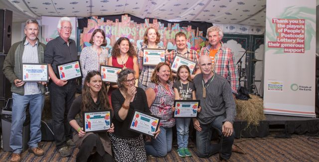 Winners of the Earthmovers award at Basecamp 2018