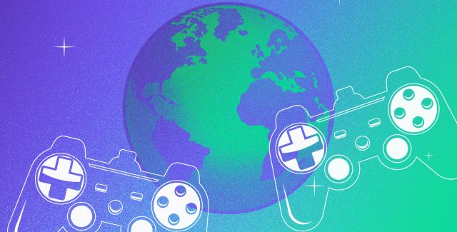 Level up for your planet - gaming consoles and planet Earth